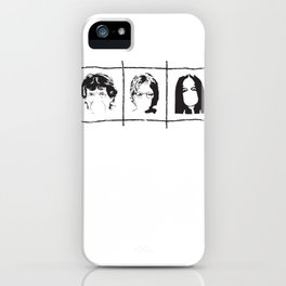 Famous singers iPhone Case