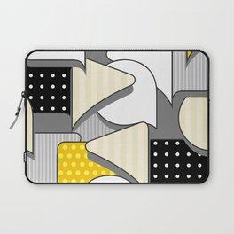 Geometric abstract pattern Laptop Sleeve