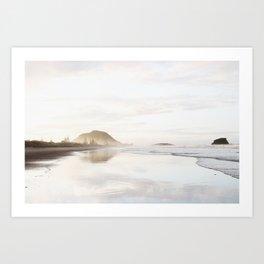 Mount Maunganui Art Print