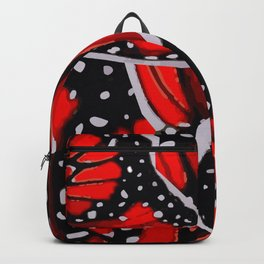 red monarch Backpack