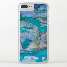Universal Consciousness Clear iPhone Case