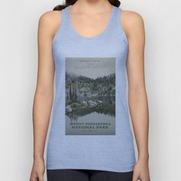 Mount Revelstoke National Park Unisex Tank Top