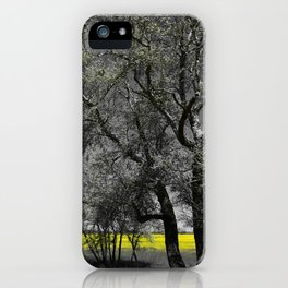 The Beauty of Canola Fields iPhone Case