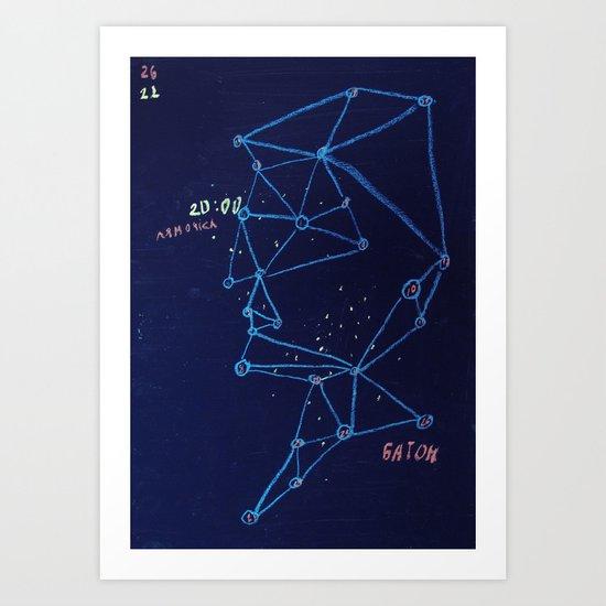 constellation of Misha Art Print