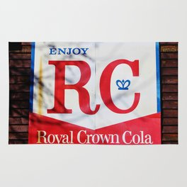 RC Cola Sign Rug