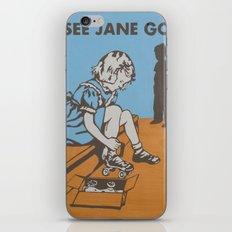 See Jane Go iPhone Skin