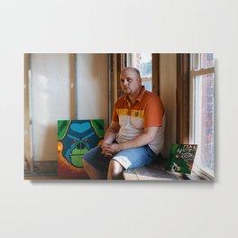 Artists In Jackson: Andrew Hall Metal Print