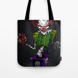 Evil Jack 'n' the Box Tote Bag