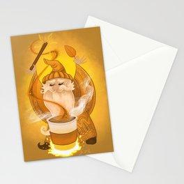 Pumpkin Spice Sorcerer Stationery Cards