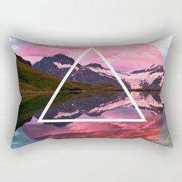 Wanderlust Lake Rectangular Pillow