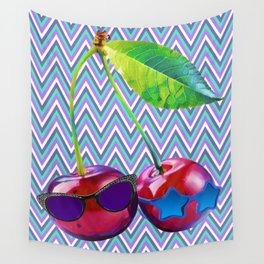 Cherry Sis Wall Tapestry