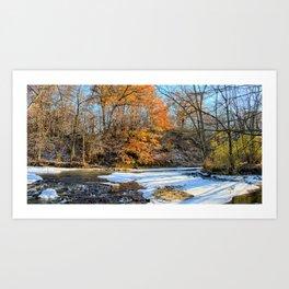 Last Of Autumn Again 2 Art Print