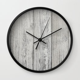 Old white wood Wall Clock