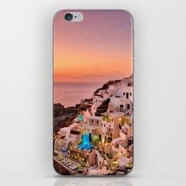 Oia Sunset iPhone Skin