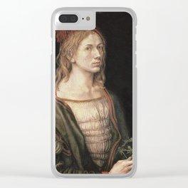 Albrecht Durer - Autoportret Clear iPhone Case