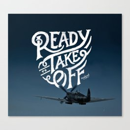 Ready To Take Off Canvas Print