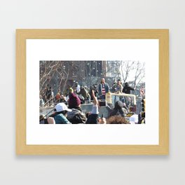 The Parade for the 2018 Super Bowl Champs - Eagles Framed Art Print