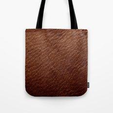 Leather Texture (Dark Brown) Tote Bag