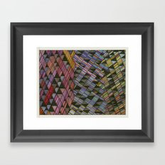 Moving Panes Framed Art Print