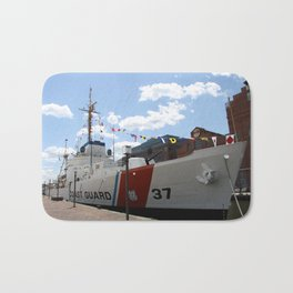 Coast Guard 37 Baltimore Harbor Bath Mat