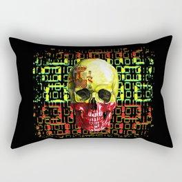 digital Skull (flag of spain) Rectangular Pillow