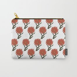 Sunset Sunflower: Helianthus Annuus Carry-All Pouch