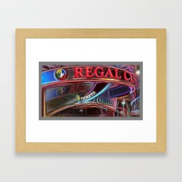 Regal Cinema  Framed Art Print