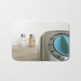 retro timer Bath Mat