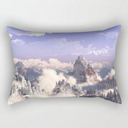 Cloud Canyon Rectangular Pillow