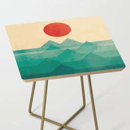 The ocean, the sea, the wave Side Table