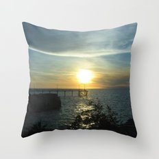 I got sunshine... on a cloudy day Throw Pillow
