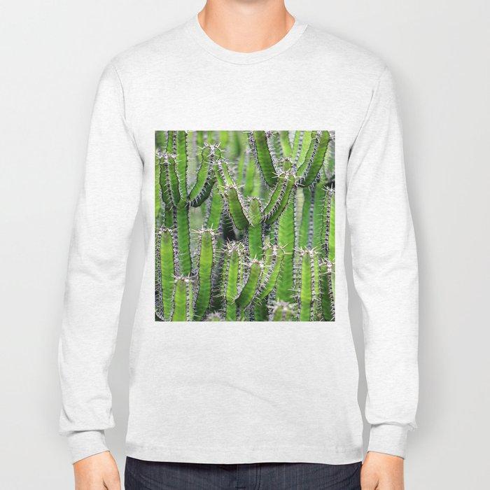 cactus illusion 4 Long Sleeve T-shirt