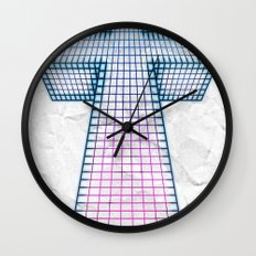 The White Cross of Justice Wall Clock