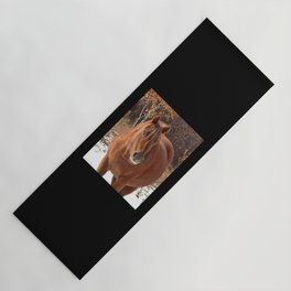 Little Red Mare Yoga Mat