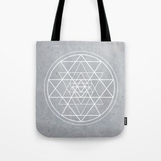 Sacred Geometry - Align At Your Center Tote Bag