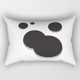 Empty holes Rectangular Pillow
