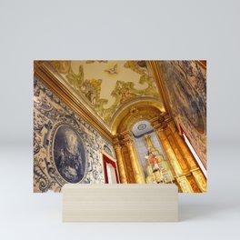 Portuguese church Mini Art Print