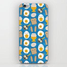 Kawaii Eggs For Breakfast iPhone Skin