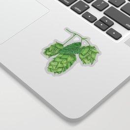 Beer Hop Flowers Sticker