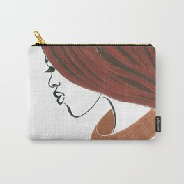 Natural Woman of Himba Carry-All Pouch