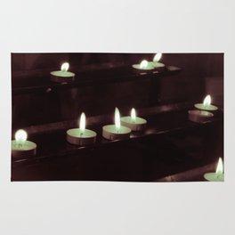 split toning candels Rug
