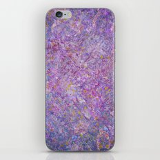 Lavender Haze Abstract Painting  iPhone & iPod Skin