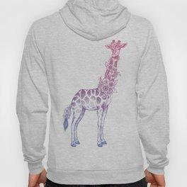 Floral giraffe Hoody