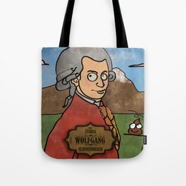Wolfgang from Earth (Clavicembalo) Tote Bag