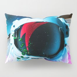 Synthwave Space: Astronaut #2 Pillow Sham