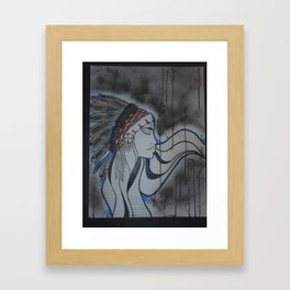 Indian. Framed Art Print