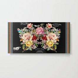 Nuit Des Roses Metal Print