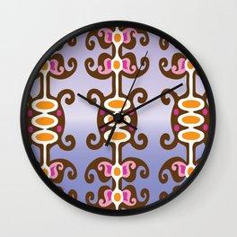 Modern Ikat Wall Clock