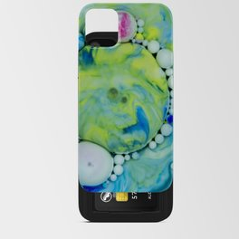 Bubbles-At - Gazer iPhone Card Case