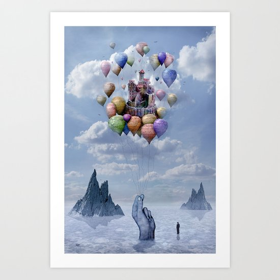 Sweet Castle Art Print